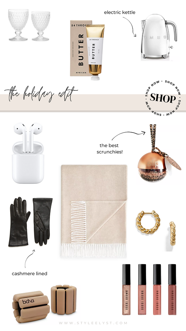 bloggers guide to holiday shopping