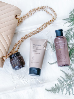 innisfree pore clearing trip