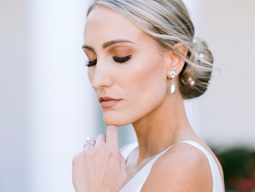COVID BRIDE // I DID MY OWN WEDDING MAKEUP AND IT WAS THE BEST DECISION I EVER MADE