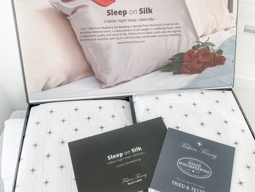 FISHERS FINERY HONEST REVIEW // LUXURIOUS SILK PILLOWCASES, SLEEPWEAR AND ROBES