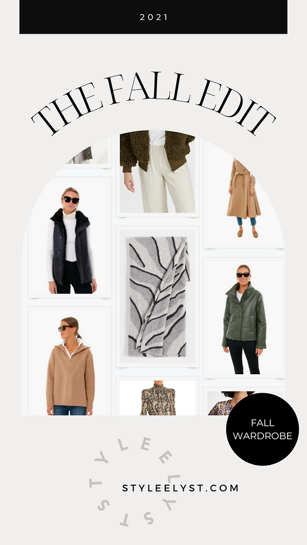 THE FALL EDIT STYLEE LYST