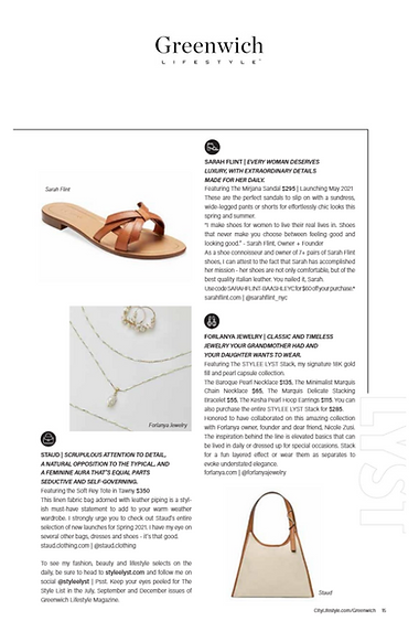 THE STYLE LIST BY STYLEE LYST MAY ISSUE
