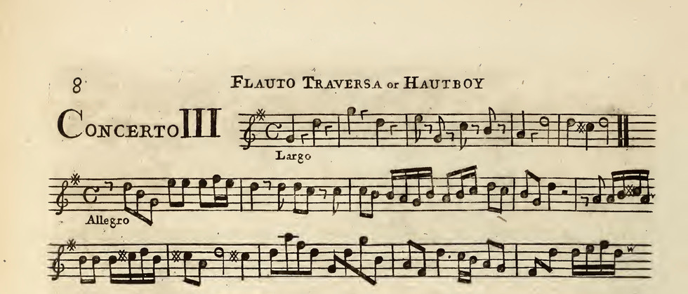 Concerti grossi con due violini e violon