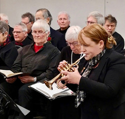 Trumpet soloist Michelle Footz