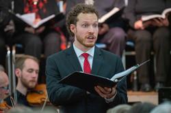 Tenor soloist Adam Dyjach