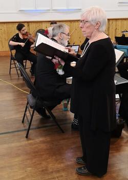Alto soloist Carol Brown