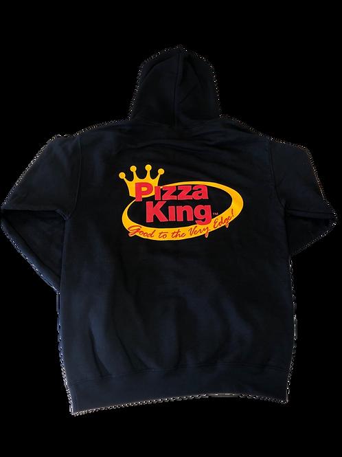 Pizza King Black Hooded Sweatshirt