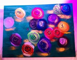 #SavageArtShow Acrylic and oil on #simon