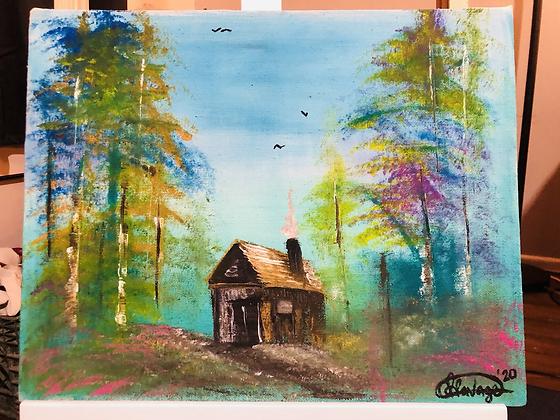 Log cabin florist