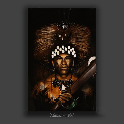 Manaia Canvas Print Stretched