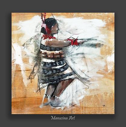 Tau'oluga Canvas Print Stretched