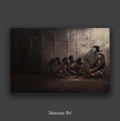Fagogo Canvas Print Stretched