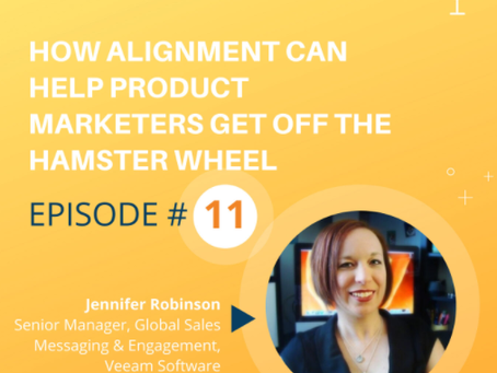 How Alignment Can Help Product Marketers Get Off the Hamster Wheel