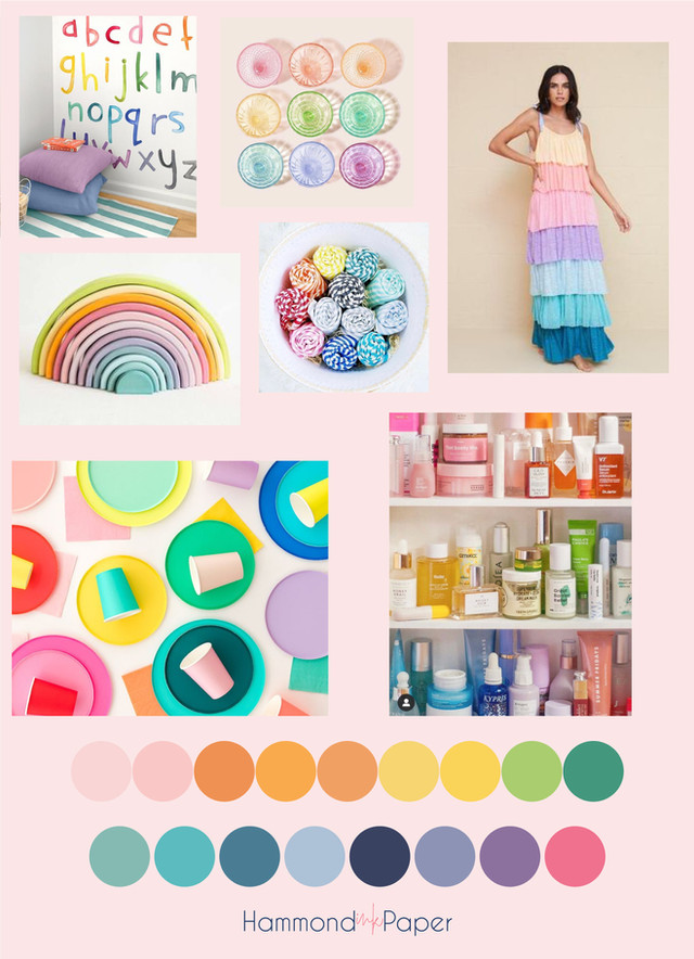 Rainbow Collection Inspiration