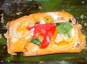 nacatamales, comida tipica Nicaragua
