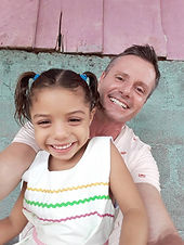 Liam Supple and his daughter.