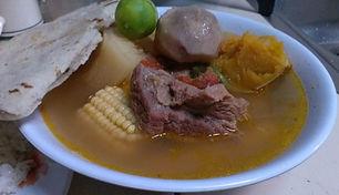 Sopa de Res, Comida tipica Nicaragua