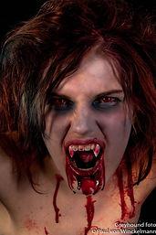 Vampire Closeup!