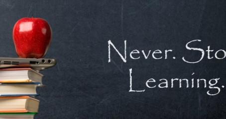 Altijd blijven leren