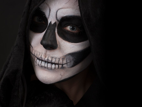 Halloween Tutorials The Skull