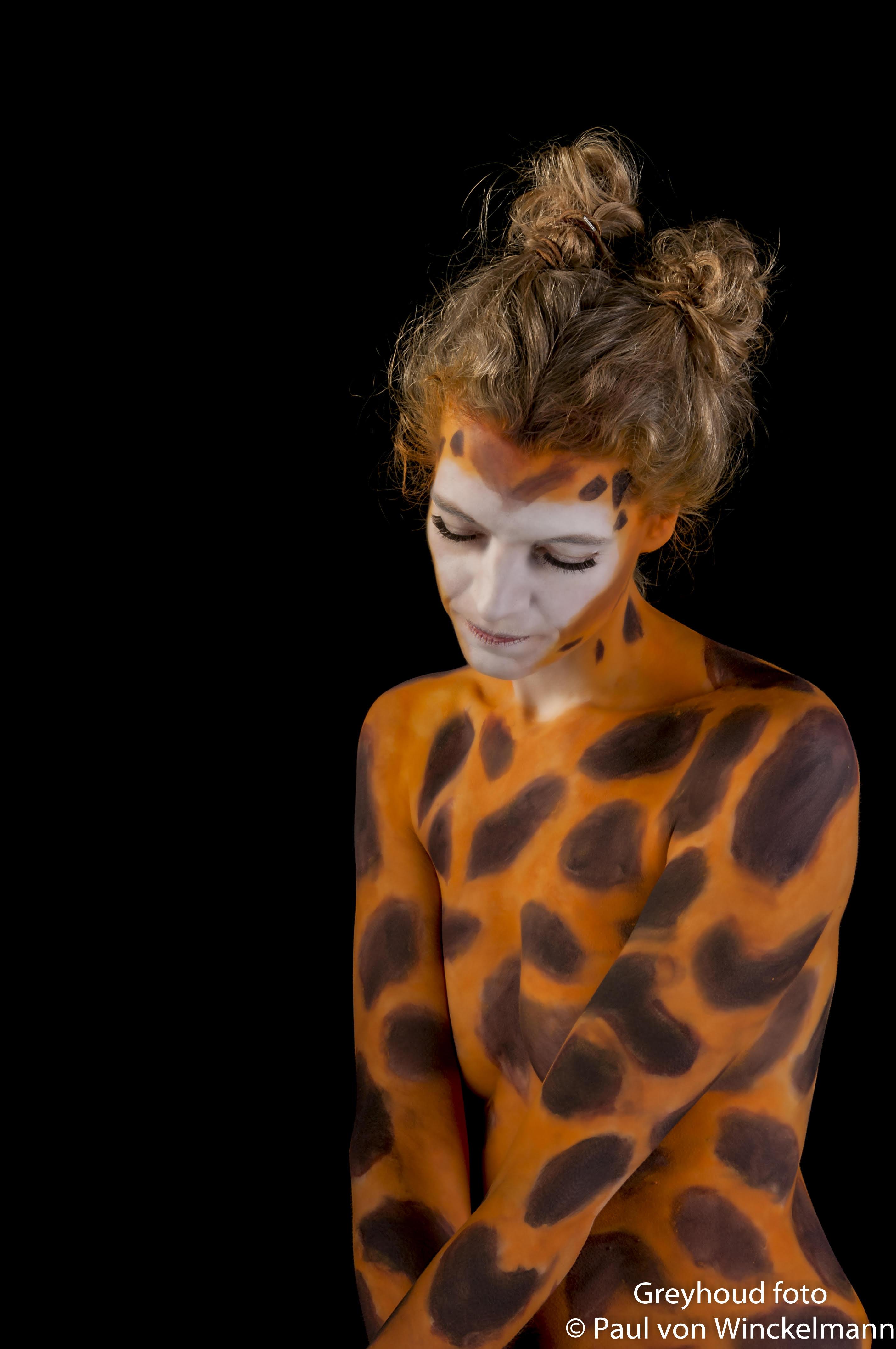 Giraffe Bodypaint 2016