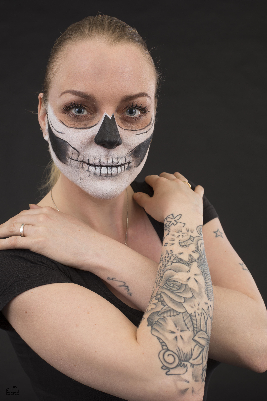 Half Skull Face 2017