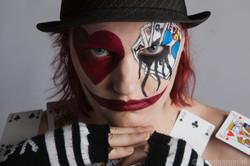 Harlekijn/creepy clown 2016