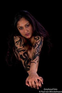 Tribal Tattoo/ Luis Royo Shoot 2016