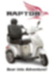 New York Mobility Scooter Pride Mobility Raptor 3 Wheel