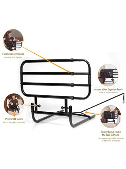 EZ Adjust Bed Rail (Available In Store Only)