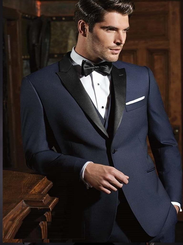 Blue Tuxedo Rental $179.95