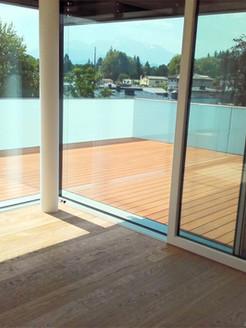 Terrasse mit Unterkontruktion