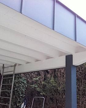 Carport Zimmerei Holzbau Greisberger