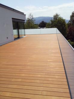Terrasse mit Unterkonstruktion