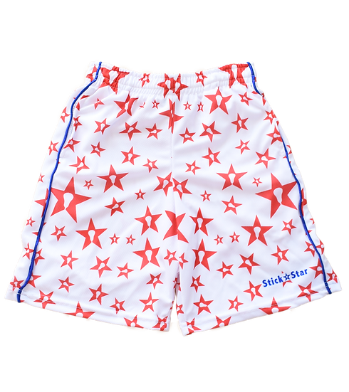 Youth Patriotic Splatter Short