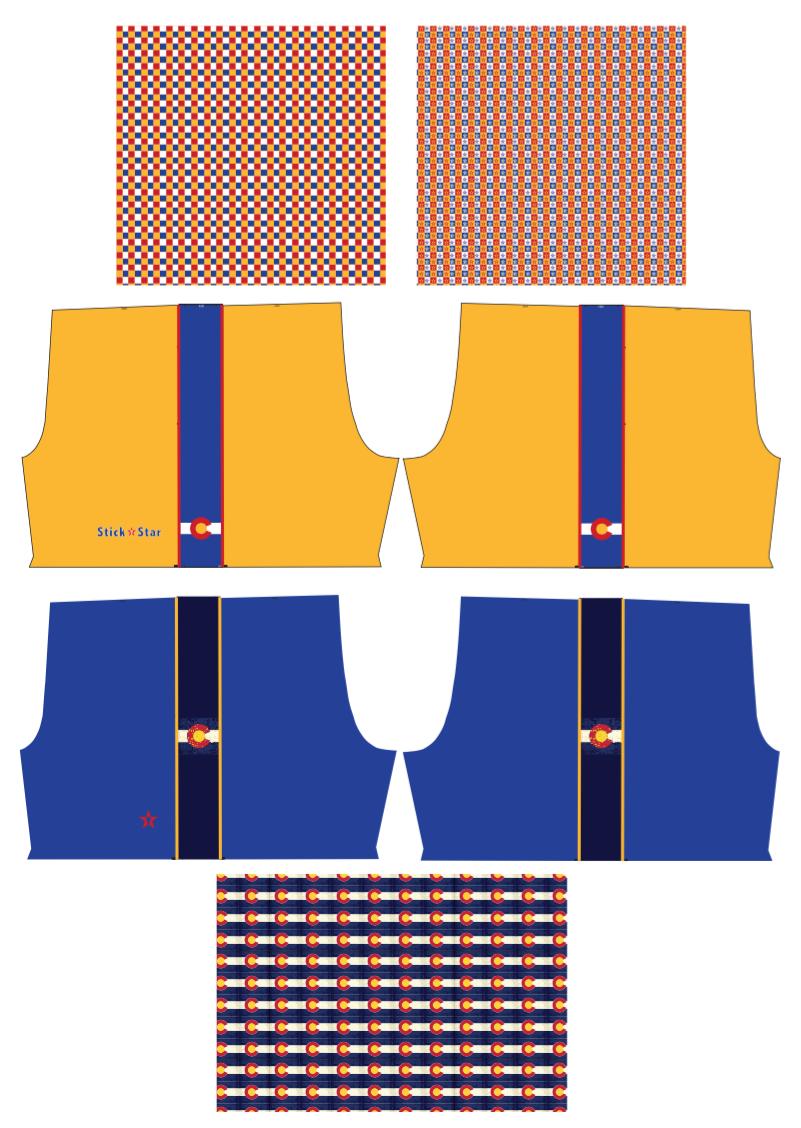 Custom Colorado Shorts