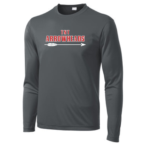 Anthracite Long Sleeve Shooter