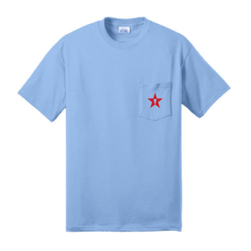 Carolina Blue Pocket Tee