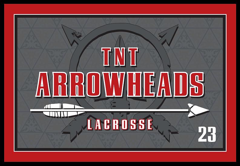Custom Arrowheads Flag