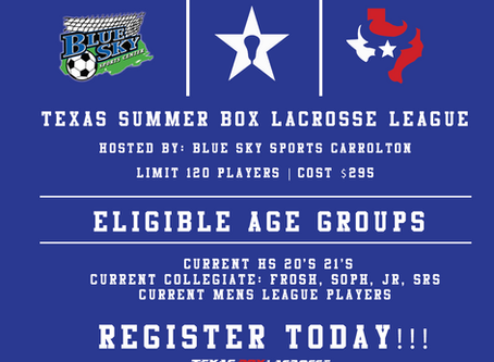 Texas BOX SUMMER League