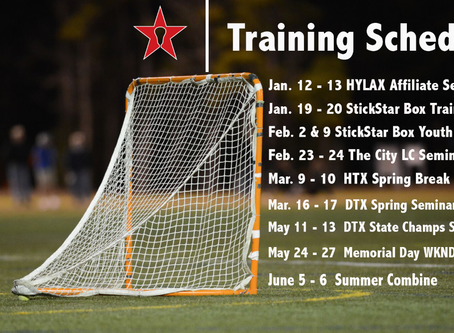 StickStar Spring Training Schedule