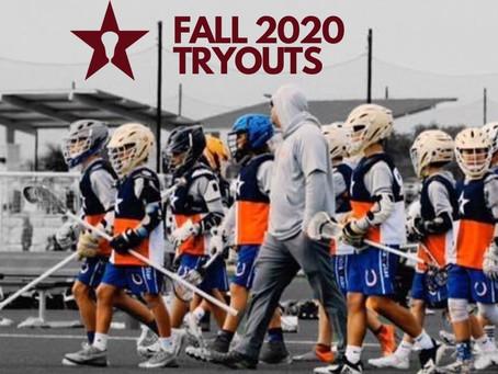 StickStar 2020 Fall Tryouts | UNITED YEAR 10