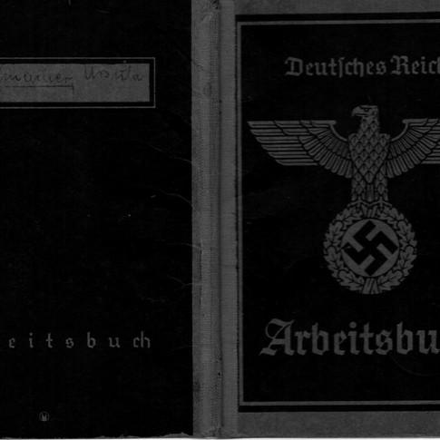 Mutti Arbeitsbuch  Deutsches Reich