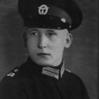 Georg Kruse 1934 bei Bremer Polizei