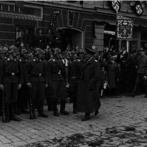 Georg Kruse 1938, vermutlich Wachbataillon Berlin