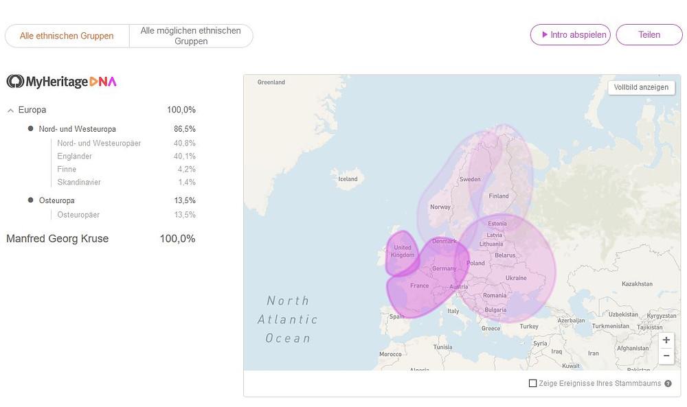 MyHeritage DNA von mir