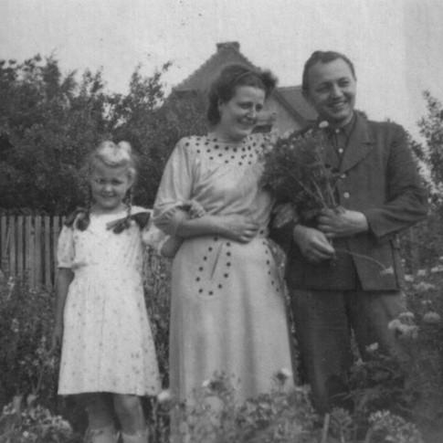 Kerstin, Margot, Ossi ca. 1955