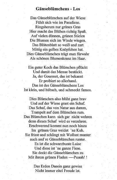 Gedicht von meiner Cousine Karla (2) 2015. Kruse Baiersdorf