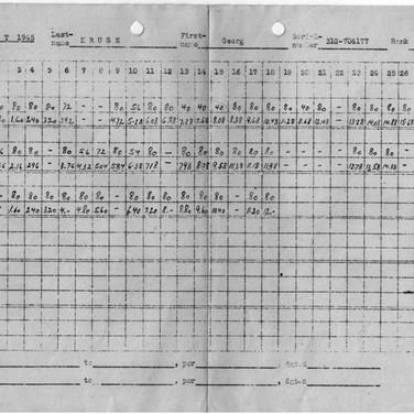 Arbeitsplan 1945 (2) Kriegsgefangenenlager