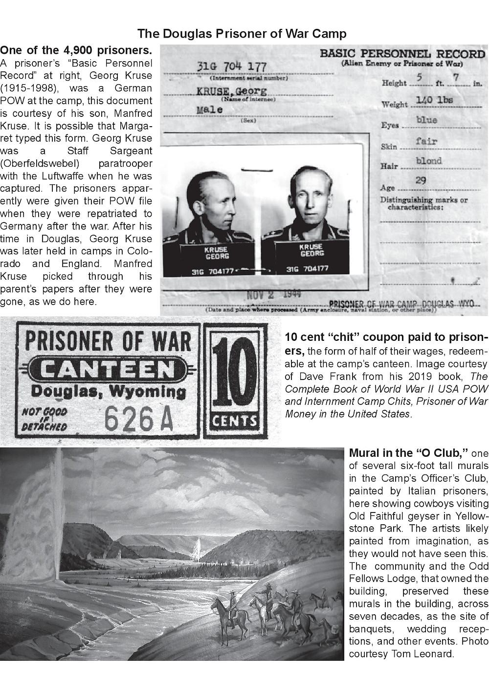 Mein Vater Georg Kruse war nach dem Zweiten Weltkrieg in diesem POW Camp.